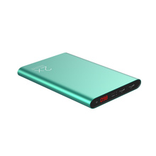 SOLOVE合金充电宝20000毫安超薄聚合物大容量手机移动电源通用 极光绿