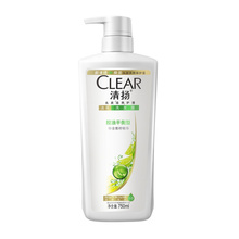 清扬洗发露洗发水控油平衡型750ml男女通用